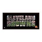 Cleveland Browns Canvas Art Team Pride