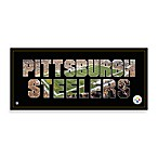 Pittsburgh Steelers Canvas Art Team Pride