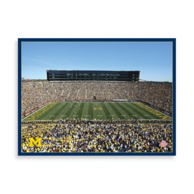 University of Michigan Canvas Art Team Stadium