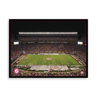 University of Alabama Canvas Art Team Stadium