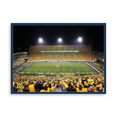 West Virginia University Canvas Art Team Stadium