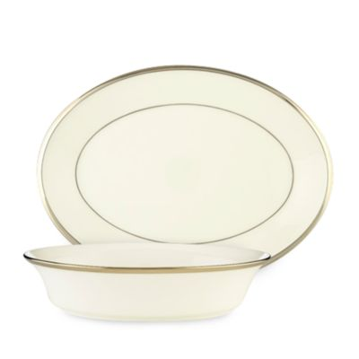 Lenox® Solitaire® White Open Vegetable Bowl