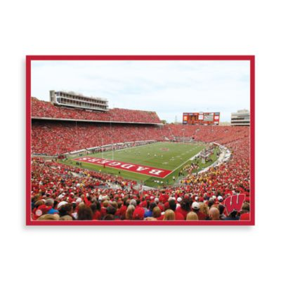 University of Wisconsin Canvas Art Team Stadium