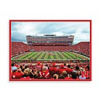 University of Nebraska Canvas Art Team Stadium