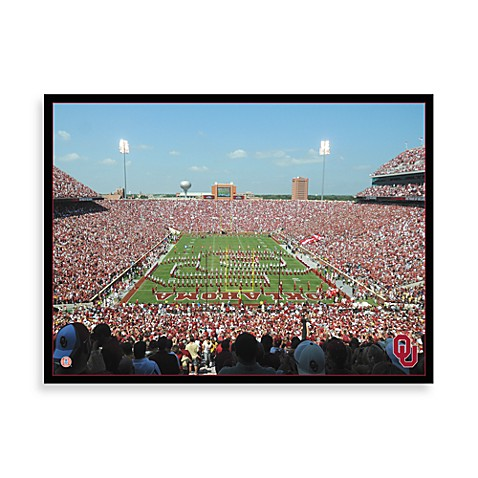 University of Oklahoma Canvas Art Team Stadium