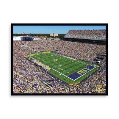 Louisiana State University Canvas Art Team Stadium