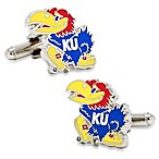 NCAA Kansas University Jayhawks Cufflinks