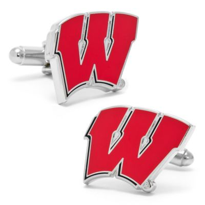 NCAA University of Wisconsin Badgers Cufflinks