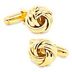 Ox and Bull Trading Co. Gold Knot Cufflinks