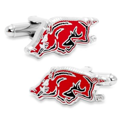 NCAA Arkansas Razorback Cufflinks
