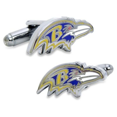 NFL Baltimore Ravens Head Cufflinks