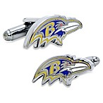 NFL Baltimore Ravens Head Cufflinks