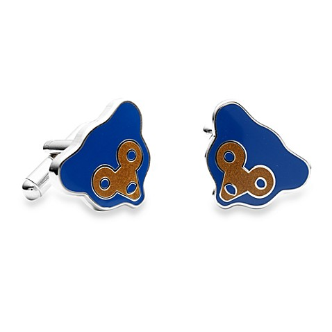 MLB Retro Chicago Cubs Cufflinks