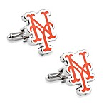 MLB Silver New York Mets Cufflinks