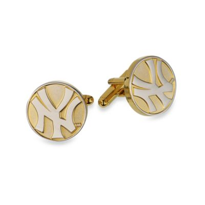 MLB Two Tone New York Yankees Cufflinks