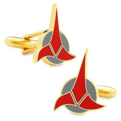 Star Trek Klingon Cufflinks