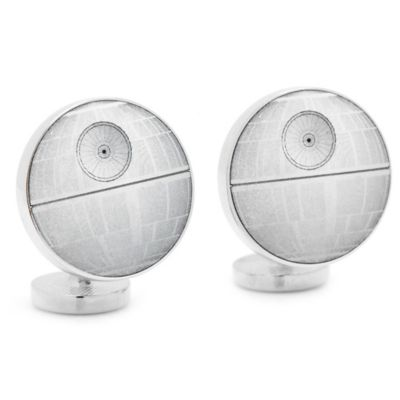 Star Wars Death Star Blue Print Cufflinks