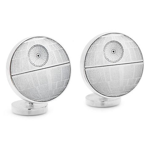 Star Wars™ Death Star Blue Print Cufflinks