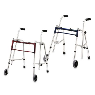 Drive Medical Wenzelite Glider Walker in Flame Red
