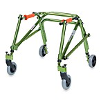 Drive Medical Wenzelite Nimbo Lightweight Junior Posterior Gait Trainer in Lime Green