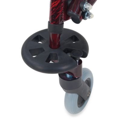 Drive Medical Wenzelite 9-Inch Non-Swivel Front Wheels with Inner Legs for Nimbo
