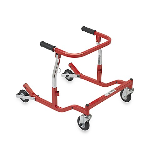 Drive Medical Wenzelite Tyke Posterior Safety Roller in Red