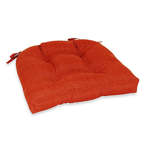 Outdoor Oversized Chair Pad in Orange