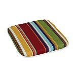2-Inch Thick Chair Cushion in Bright Stripe