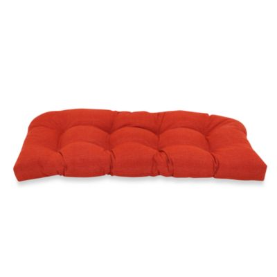 Outdoor Sette Cushion in Cherry