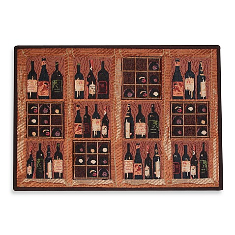 Park B. Smith® Crate of Wine 1-Foot 7-Inch x 2-Foot 3-Inch Tapestry Rug