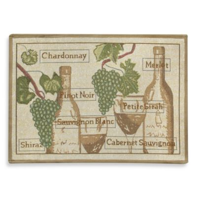 Park B. Smith® Fruit of the Vine Multicolored 1-Foot 7-Inch x 2-Foot 3-Inch Rug
