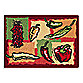 Park B. Smith® Hot Peppers Multicolored 1-Foot 7-Inch x 2-Foot 3-Inch Tapestry Rug