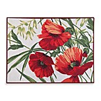 Park B. Smith® Red Poppies 2-Foot 3-Inch x 3-Foot Tapestry Rug