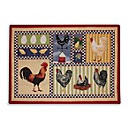 Park B. Smith® Which Came First 1-Foot 7-Inch x 2-Foot 3-Inch Tapestry Rug