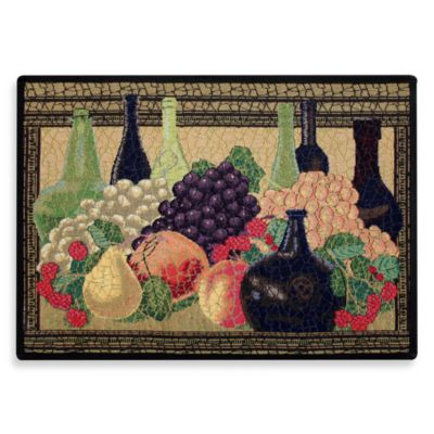 Park B. Smith Wine Classic 7-Inch x 2-Foot 3-Inch Tapestry Rug