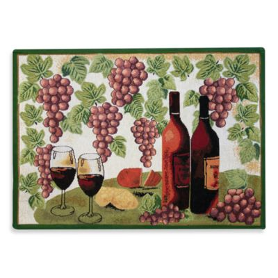 Park B. Smith® Wine Table 1-Foot 7-Inch x 2-Foot 3-Inch Tapestry Rug