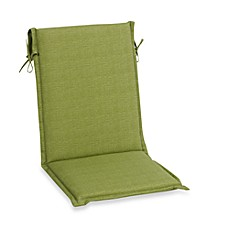 Outdoor Sling Back Chair Cushion in Kiwi