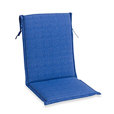 Outdoor Sling Back Chair Cushion in Blue