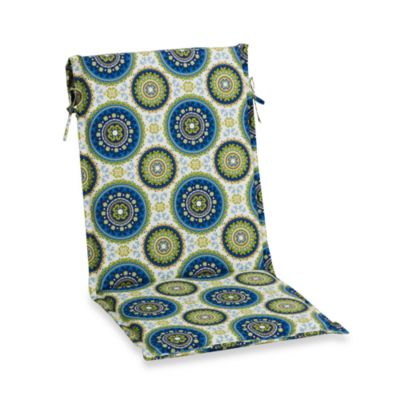 Outdoor Sling Back Chair Cushion in Bindis