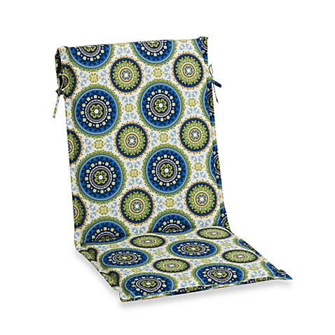 Buy Outdoor Sling Back Chair Cushion In Kiwi From Bed Bath