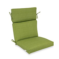 Outdoor High-Back Chair Cushion in Kiwi