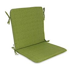 Outdoor Mid-Back Chair Cushion in Kiwi