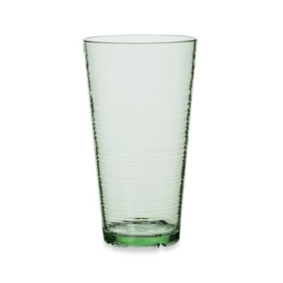 Bark High Ball 24-Ounce Glass in Lime