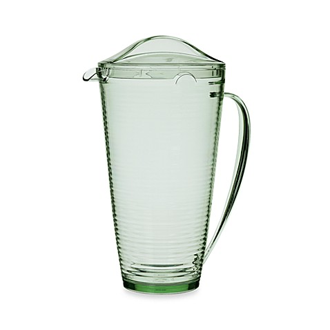 Bark 2-Quart Pitcher in Lime