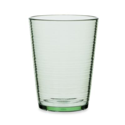 Bark Double Old-Fashioned 16-Ounce Glass in Lime