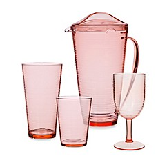 Bark Barware Collection in Coral