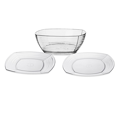 Bark Tableware Collection - Clear