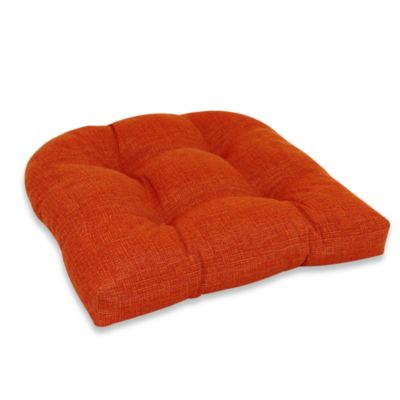 Outdoor Single U Cushion in Orange
