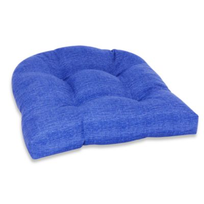 Outdoor Single U Cushion in Blue