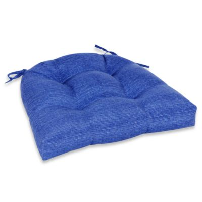 Outdoor Oversized Chair Pad in Blue